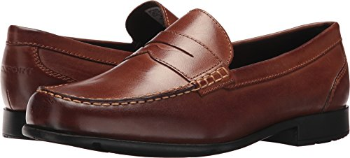 Rockport Mens barnaby Lane Penny Brown 12 M (D)