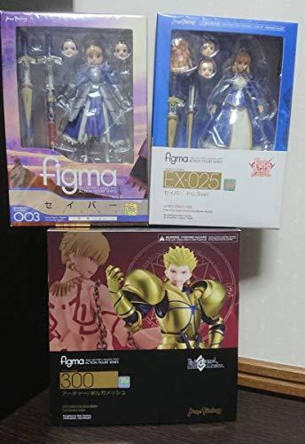 figma アーチャー ギルガメッシュ セイバー ドレスver. 3個セット Fate フィギュア Fatestay night FateGrand orderの商品画像