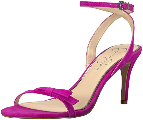 Jessica Simpson WoMen Purella Heeled Sandal Hot Shot Pink