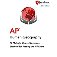 AP Human Geography: 75 Multiple Choice Questions: Essential for acing the exam