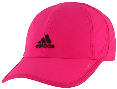 lite Relaxed Adjustable Performance Cap, Real Magenta/Black, One Size ()