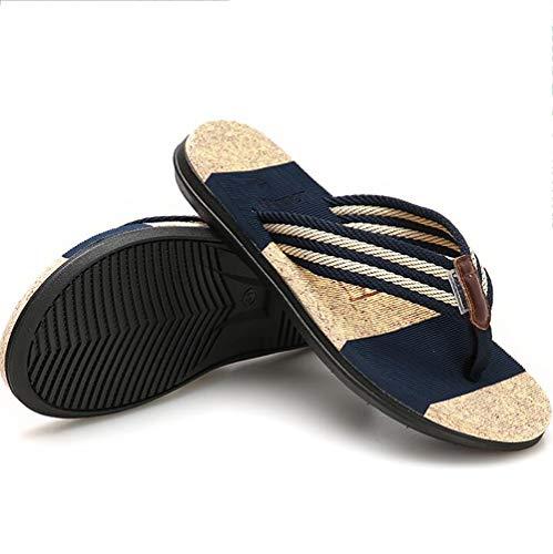 Confortevole Blue Estate Antiscivolo Toe Clip Shangxian Infradito Tendenza Pantofole Sandali Piatto Spiaggia Moda 17R8waqR