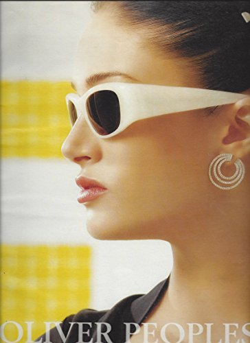 MAGAZINE ADVERTISEMENT For 2007 Oliver Peoples White Frame - Peoples Oliver Sunglasses Sale