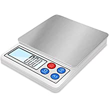 NEXT-SHINE POC-8006 Digital Gram Scale 600g/0.01g Portable Use Multi-functionals Pro Scale with LCD Display, Tare, PCS, Back-lit for Home, Kitchen, School, Laboratory