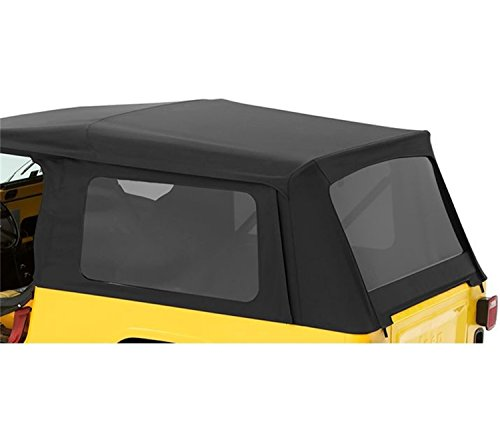 Bestop 58710-35 Black Diamond Tinted Window Kit for Supertop NX or OEM Top for 2004-2006 Wrangler Unlimited