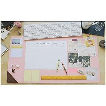 Vintage Designed Desk Mat Ver. 02 - Pink