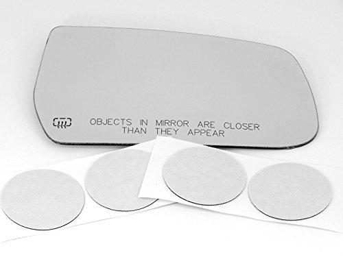 10-16 Chev Equinox / GMC Terrain, Convex Right Passenger Heated Mirror Glass Lens w/ Adhesive USA