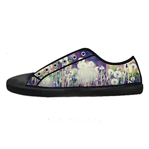 Chaussures De Toile De Dandelion Womens Personnalisés Les Chaussures De Lacets Chaussures Baskets Montantes