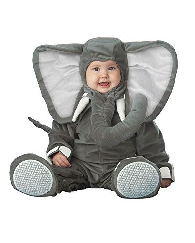 Gamery Animal Costumes for Infant Toddlers Baby Boys Girls Kids Cosplay Elephant 19-24 Months