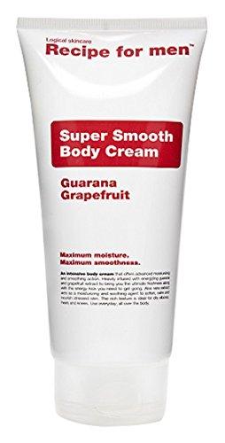 Recipe for Men Super Smooth Body Cream, 6.7 fl. oz.