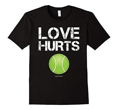Tennis Player Gifts: Love Hurts Funny Tennis Shirts