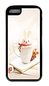 Distinct Waterproof Funny Little Bunnies Design Your Own iPhone 5c Case