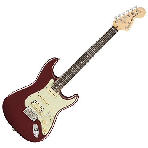 Fender California Stratocaster - Fender American Performer Stratocaster HSS RW Aubergine w/Gig Bag
