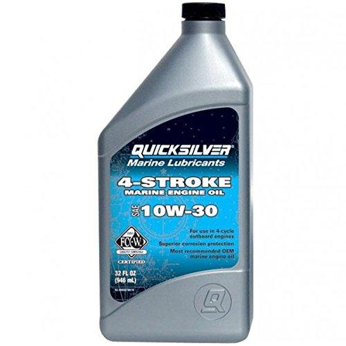 QuickSilver 8M0078616 FC-W 4 Stroke 10W-30 Marine Engine Oil ()