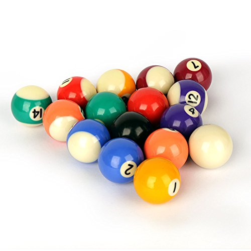 HLC Billiard Pool Table Ball Set of Mini Size 1.5 Inches