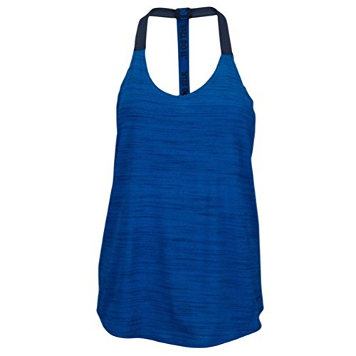 Nike Elastika Dri-fit Heathered Racerback Tank Top Game Royal X-Large