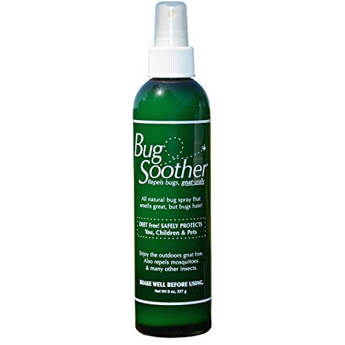 Bug Soother Natural Insect Repellent Spray, 8-ounces