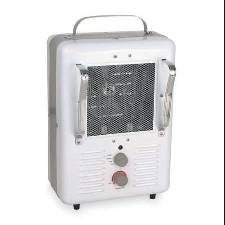 DAYTON 3VU33 Electric Space Heater, Fan Forced, 120V,