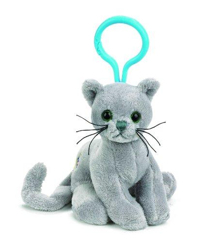 Webkinz Charcoal Cat Kinz Klip