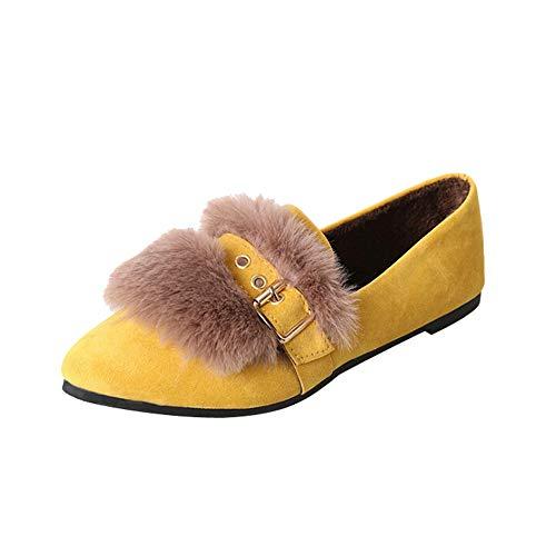 chaussures Coton Jaune Luckygirls Antidérapantes Pantoufles Hiver Femme Meilleure Vente Mode Shoes En Chaudes Automne Nouveau SwaCq5Cx7