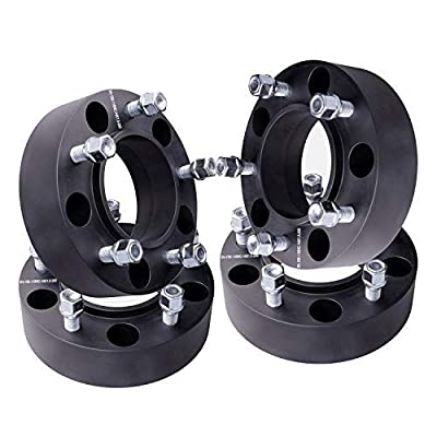 "GDSMOTU 4pc Wheel Spacers for Toyota 5 Lug, 5x150 Hubcentric Wheel Spacers 2"" with 14x1.5 Studs for 1998-2020 Land Cruiser,2008-2020 Sequoia,2007-2020 Tundra,1998-2007 Lexus LX 470,2008-2020 LX 570: Automotive"