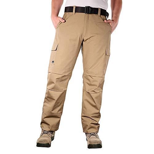 LA Police Gear Urban Recon Cotton Canvas Tactical Cargo Work Pant - Coyote Brown - 32 x -