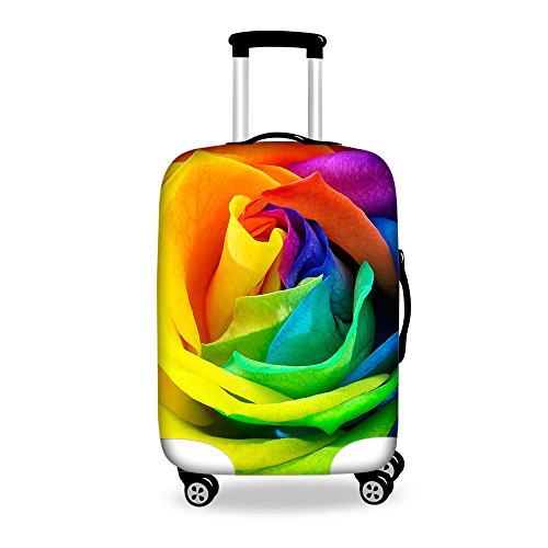 Freewander Travel Suitcase Trolley Case Cover Protector 18 to 30inch Luggage Tag (Small(18''-22'') cover, Design-14)