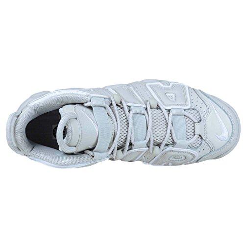 Nike Kids Air Meer Uptempo Gs, Zwart / Wit - Zwart Licht Bot / Licht Beenwit