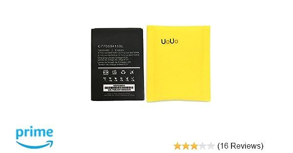 Amazon.com: UoUo New Replacement Battery For BLU STUDIO 5.0 C D536U C775004180L 1800mAhL: Cell Phones & Accessories