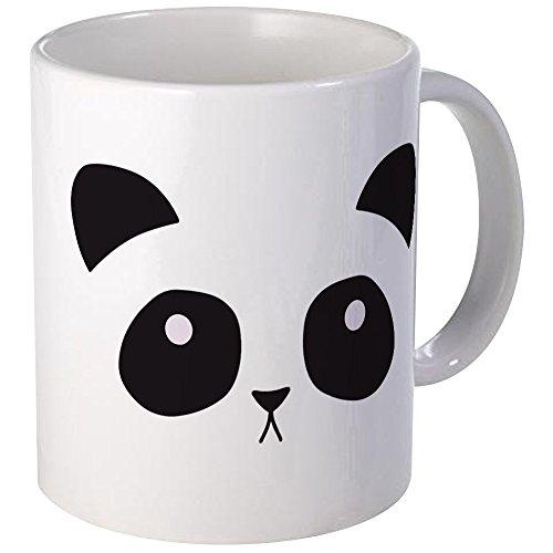 CafePress - Panda Face Mug - Unique Coffee Mug, Coffee (Panda Face Mug)