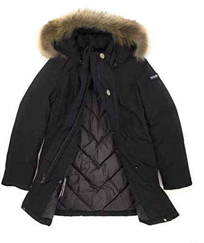 Wkcps1973 Woolrich Inverno Giubbotto Arctic Black Bambina q1T1gfv