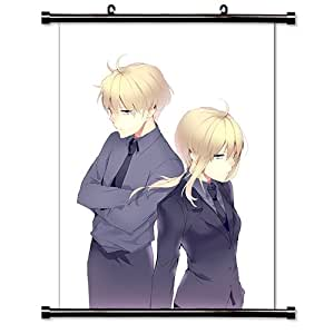 Fate Prototype Anime Fabric Wall Scroll Poster (16x22) Inches [WL]Fate Prototype-5