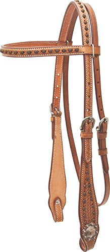 (Cowboy Pro Barrel Racer Browband Headstall)