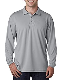 UltraClub mens Cool & Dry Sport Long-Sleeve Polo(8405LS)