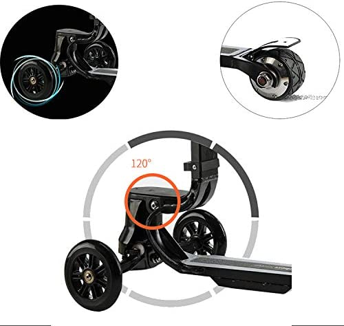Amazon.com: L&QQ - Maleta para scooter eléctrico, plegable ...