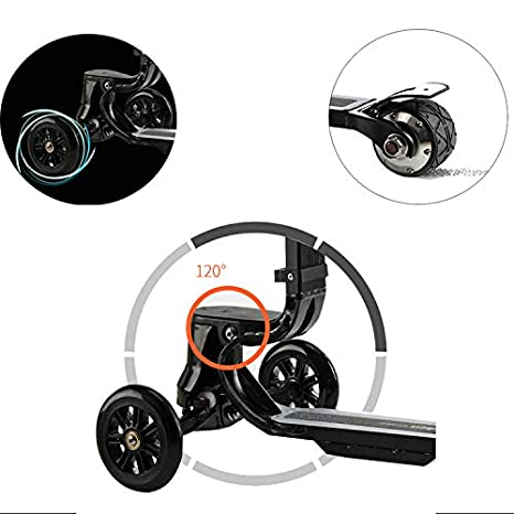 Amazon.com: L&QQ - Maleta para scooter eléctrico, plegable ...