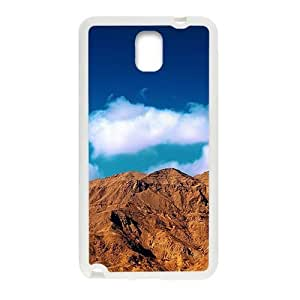 Brown Mountains White Phone For Case Samsung Note 3 Cover