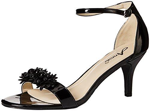 Women W Lively Dress Annie Black Sandal Shoes wavq8W5T