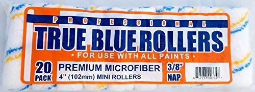 "True Blue Professional 4"" Paint Roller Covers, Best"