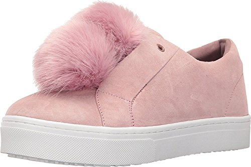 Sam Edelman Women's Leya Sneaker, Ink Navy Suede, 12 UK Pink Mauve