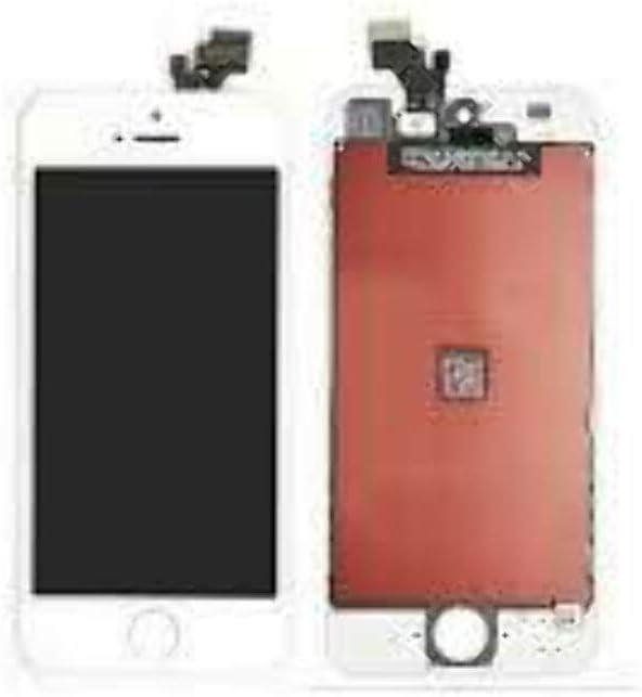 LIVHÒ® Pantalla Blanco Compatible con iPhone 5 / Display LCD Retina y Vidrio Tactil