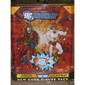 - DC Universe Classics Exclusive New Gods Action Figure 2Pack Orion & Lightray