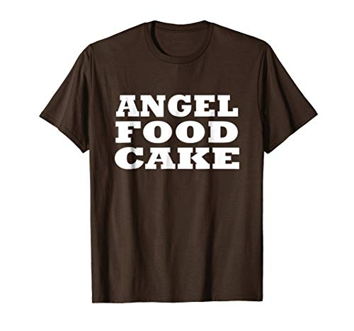 Angel Food Cake Halloween Lazy Easy Costume Party Funny -
