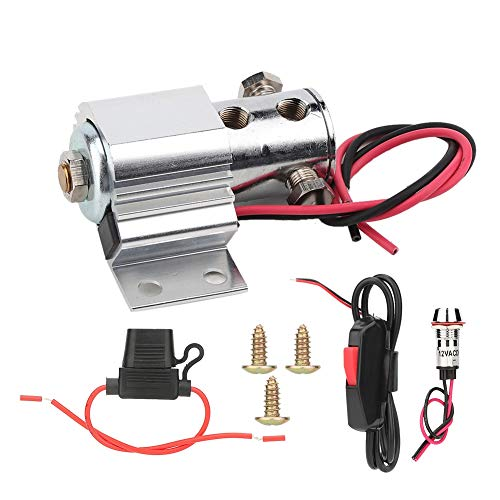 Gorgeri Universal Car Brake Line Lock Brake Roll Control Electric Kit Hill Holder for 12-16 Volt Electric Systems