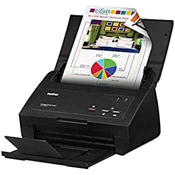 ADS1500W Compact Color Desktop Scanner with Duplex and Web Connectivity Hermitshell Hard EVA Travel Case Fits Brother ADS1000W