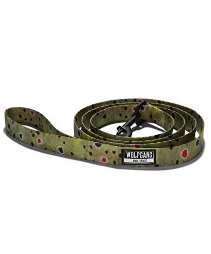 - Wolfgang Man & Beast Dog Leash | Durable Webbing Leashes - from The BrownTrout Print Collection