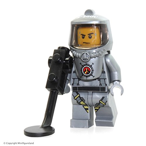 LEGO City Volcano Explorers MiniFigure: Male Scientist w/ He