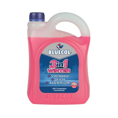 Bluecol BPS025 3-in-1 Winter Screenwash Concentrate