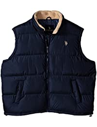 Men's Big-Tall Signature Vest With Inner Sherpa Collar