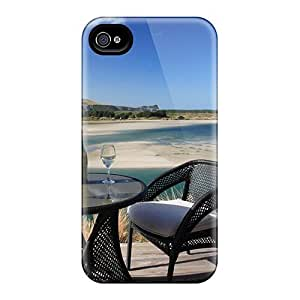 Anti-scratch And Shatterproof Romantic Glass Of Wine Phone Cases For Iphone 6/ High Quality Cases